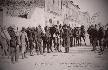 Centenaire _ Grande Guerre _ Muletiers