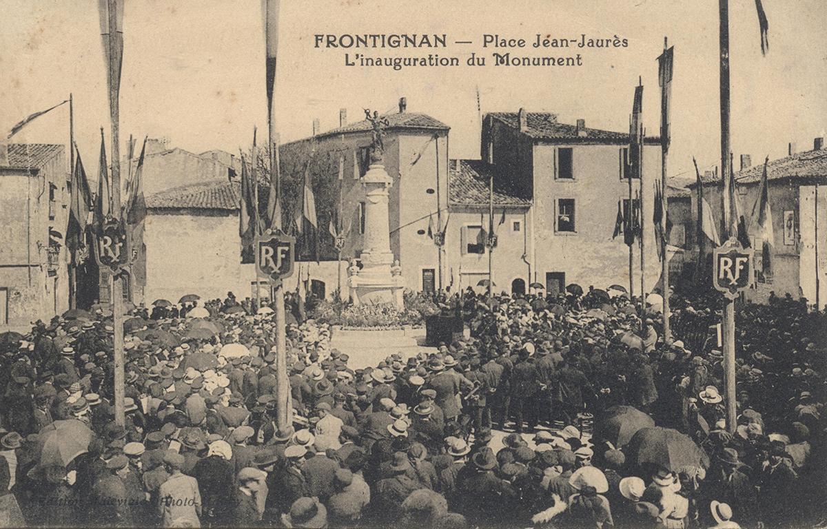 Centenaire _ Grande Guerre _ inauguration monument aux morts
