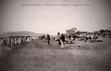 Centenaire _ Grande Guerre _ mitrailleurs à la plage