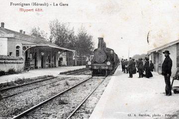 Patrimoine Histoire Gare Frontignan