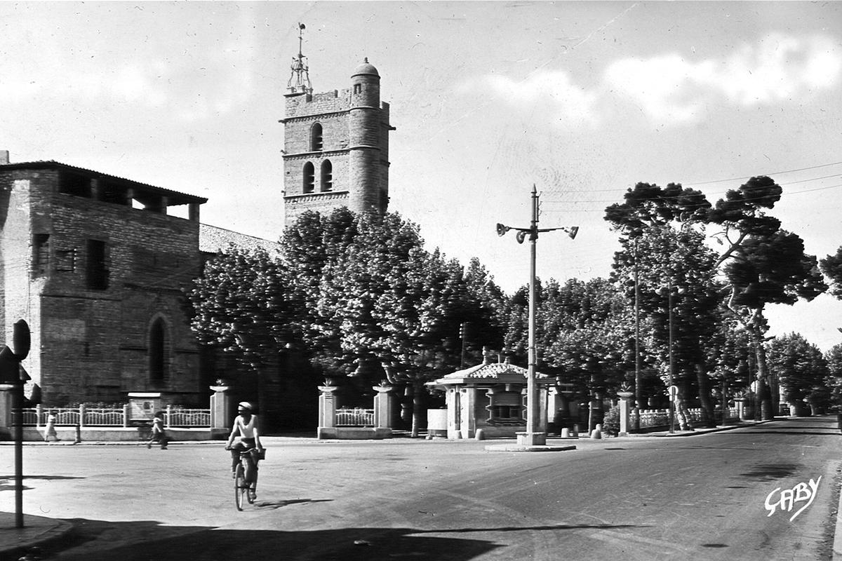 Patrimoine Histoire Frontignan Square Liberté
