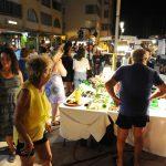 UN ETE EN PHOTOS - 2 août 2017 - Marché nocturne à Frontignan plage