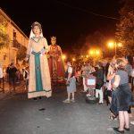 UN ETE EN PHOTOS - 22 juillet 2017 - Fête des jumelages - Les géants de Pineda