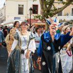 UN ETE EN PHOTOS - 22 juillet 2017 - Fête des jumelages - Saynète italienne