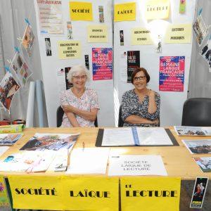 Journée des Associations 2017 - SOCIETE LAIQUE DE LECTURE