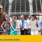 Inauguration Halles