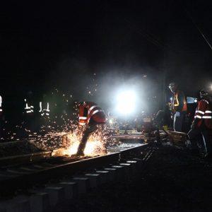 Travaux voies SNCF