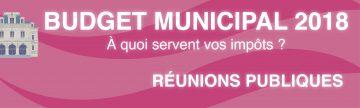 UNE site web-Budget municipal