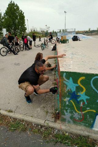 Rencontre jeunes-maire Skatepark
