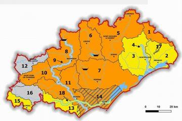 sècheresse hérault septembre 2019