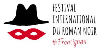 Logo festival internation du roman noir 2020 à Frontignan la Peyrade
